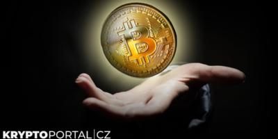 btc bitcoin ruka kryptoměna