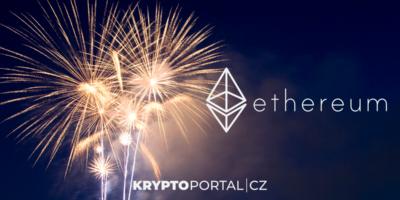 ETH Ethereum výročí
